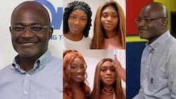 Ken Agyapong's daughters show off their natural beauty in no-makeup video; fans scream wow