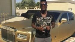 Asamoah Gyan flaunts his rasta-haired 2nd son as boy celebrates his birthday