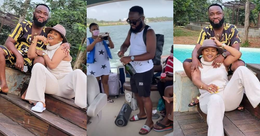 McBrown's Husband Maxwell Shares Video As They Go On A Boat Cruise On Easter Vacation