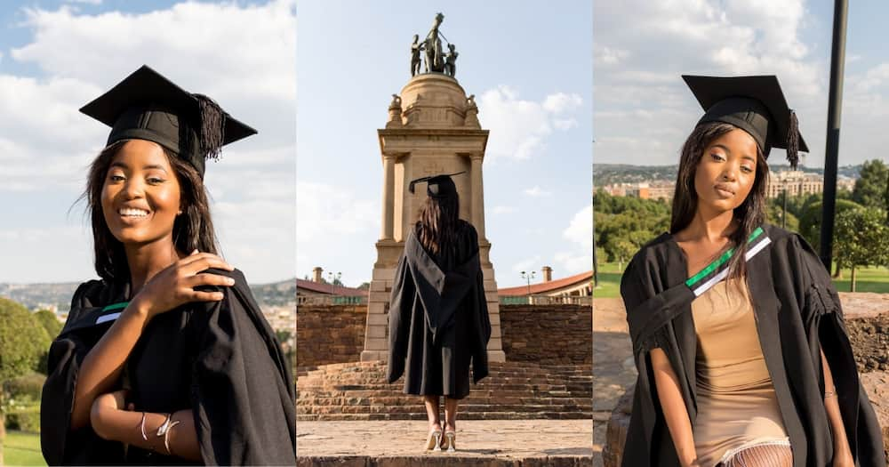 """""""The Power in These Pics"""": Gorgeous Lawyer's Graduation Snaps Go Viral"""