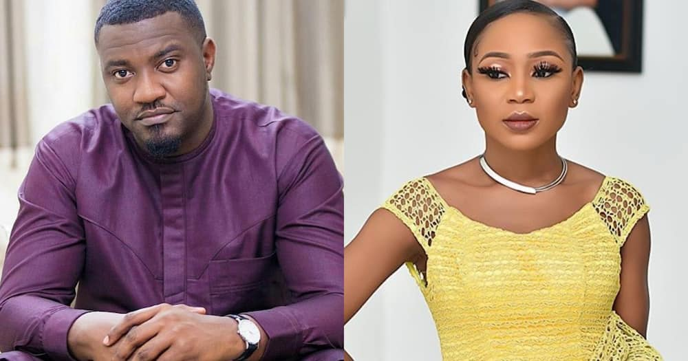 John Dumelo feels vindicated says I told you so after Akuapem Poloo is granted bail