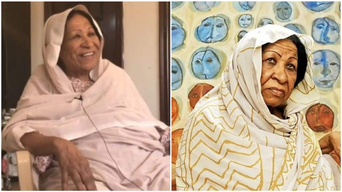 80-year-old African painter receives top global award for her genius designs