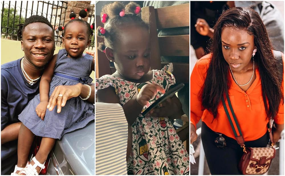 Jidula: Video of Stonebwoy's Daughter Wishing the Mother with Accent like American-Raised Kid Stuns fans