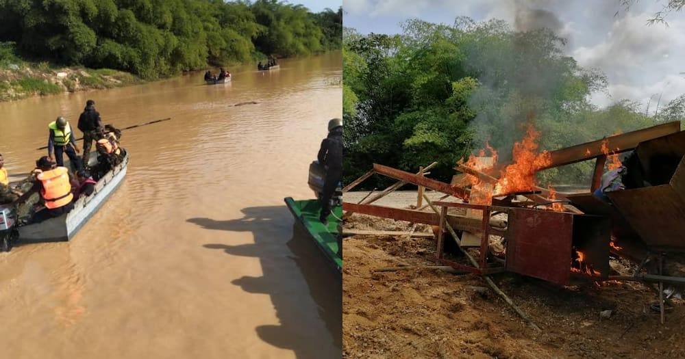 200 gallant soldiers deployed to 'clear' all those mining in Ghana's water bodies