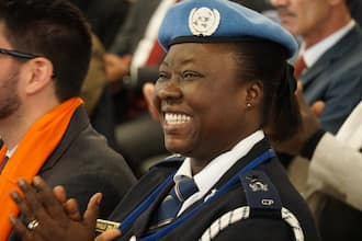Meet the Ghanaian police officer who won UN female peacekeeping award for impactful policing