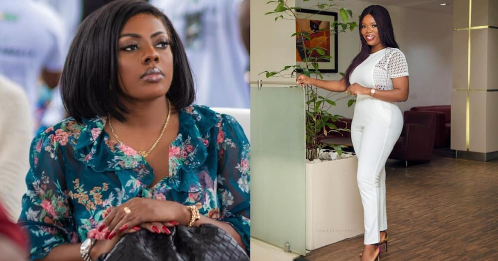 It's an interview, not a death sentence - Delay boldly replies Nana Aba's interview request