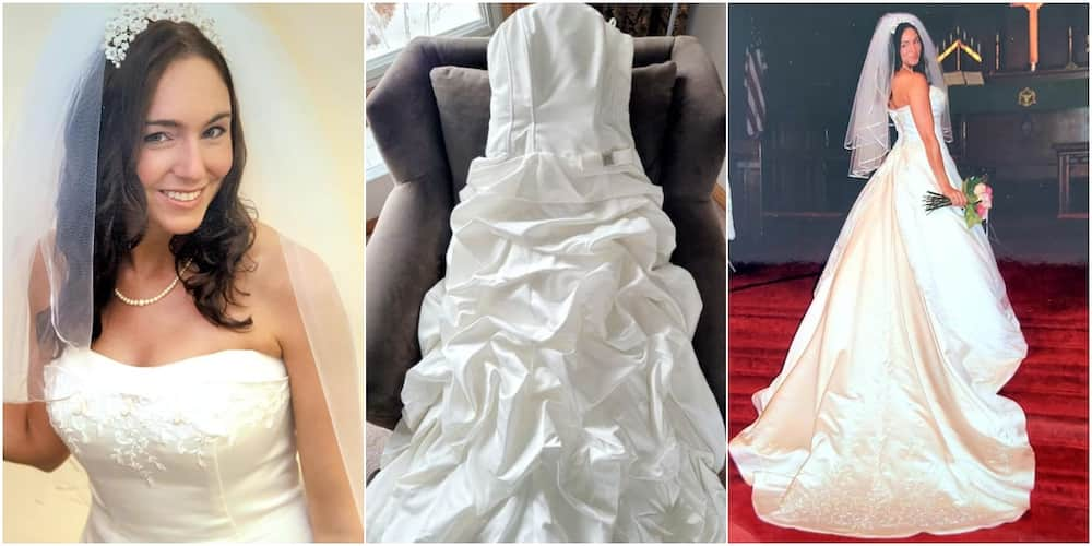 Woman discovers she has the wrong bridal dress 14 years after wedding
