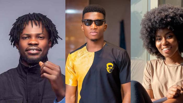 Kofi Kinaata: MzVee, Fameye, others congratulate 'Fante rap god' on historic VGMA win