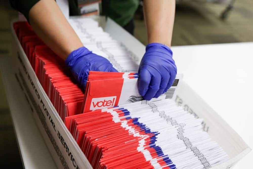 US election: Postal worker reportedly admits to fabricating allegations of ballots tampering