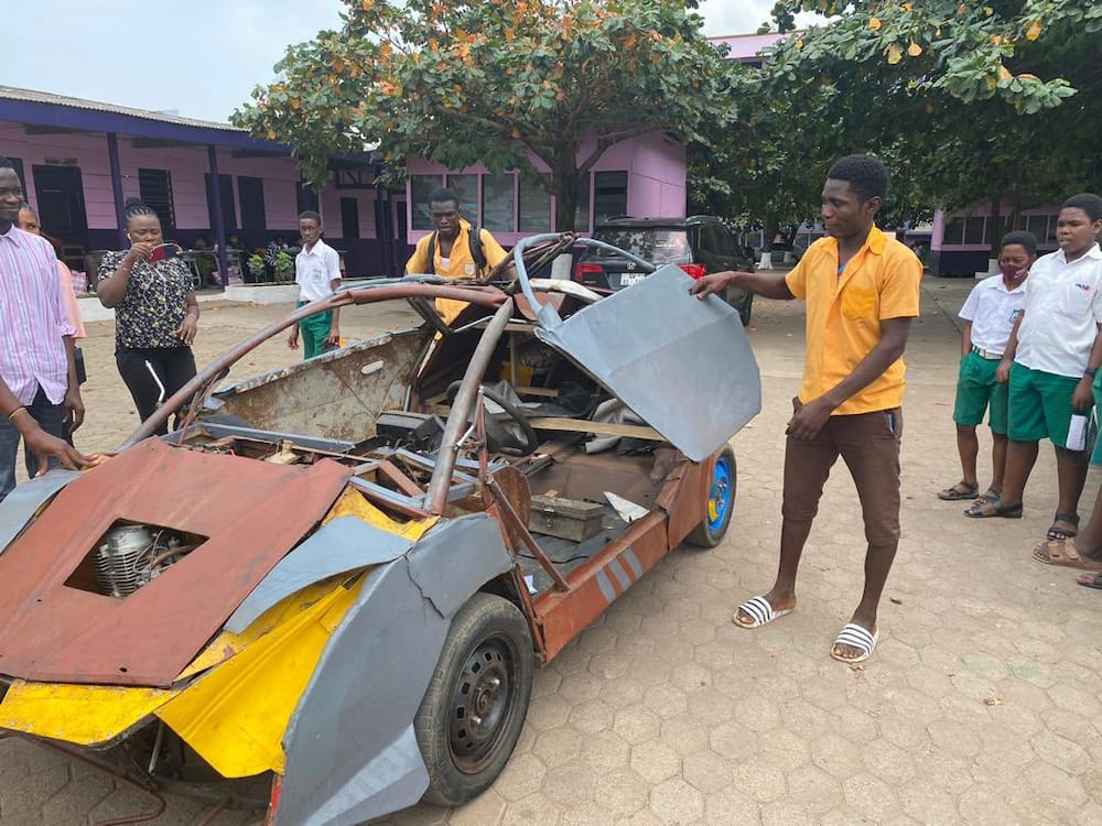 People thought my son was mad - Mother of BECE graduate who built Lamborghini-like car speaks