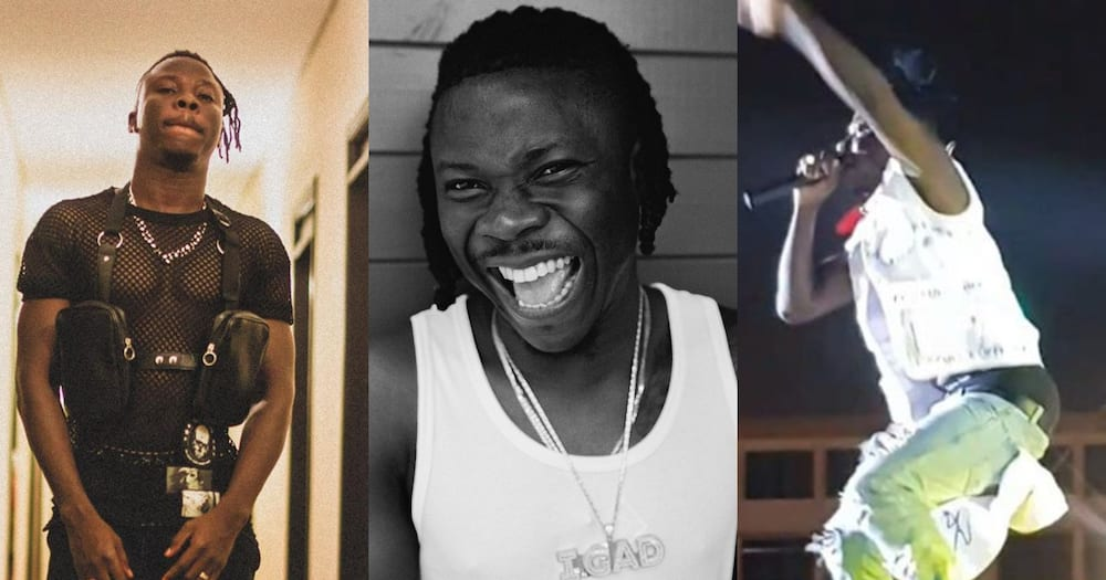 Stonebwoy dances to Putuu at birthday party of John Painstil's wife's (video)
