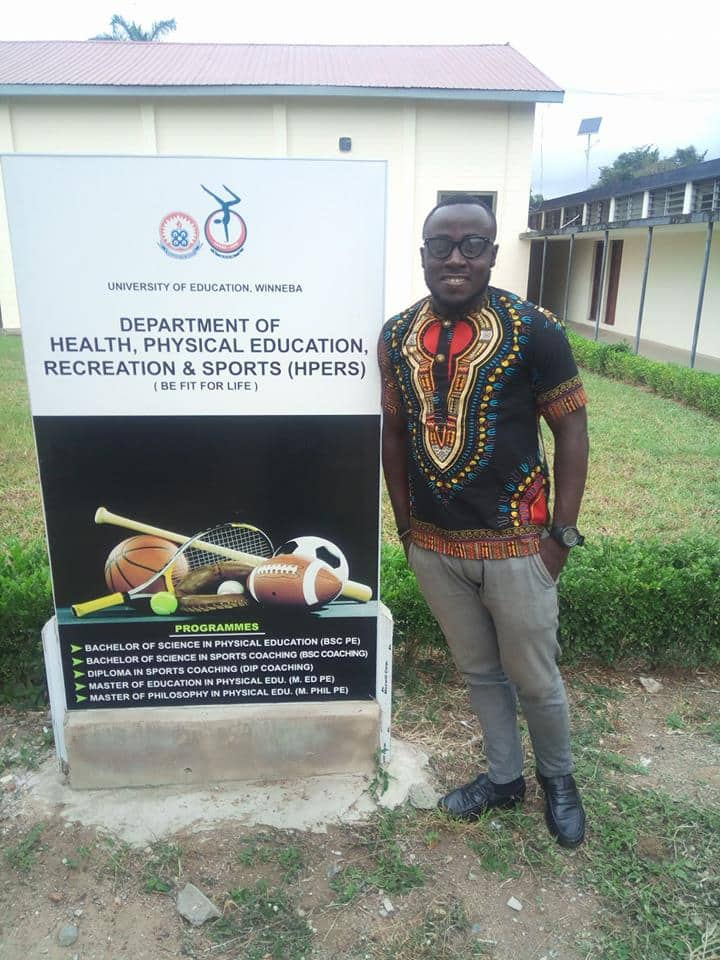 Meet Abel Manomey - The Ghanaian footballer who turned down mouth-watering offer to pursue a master's degree