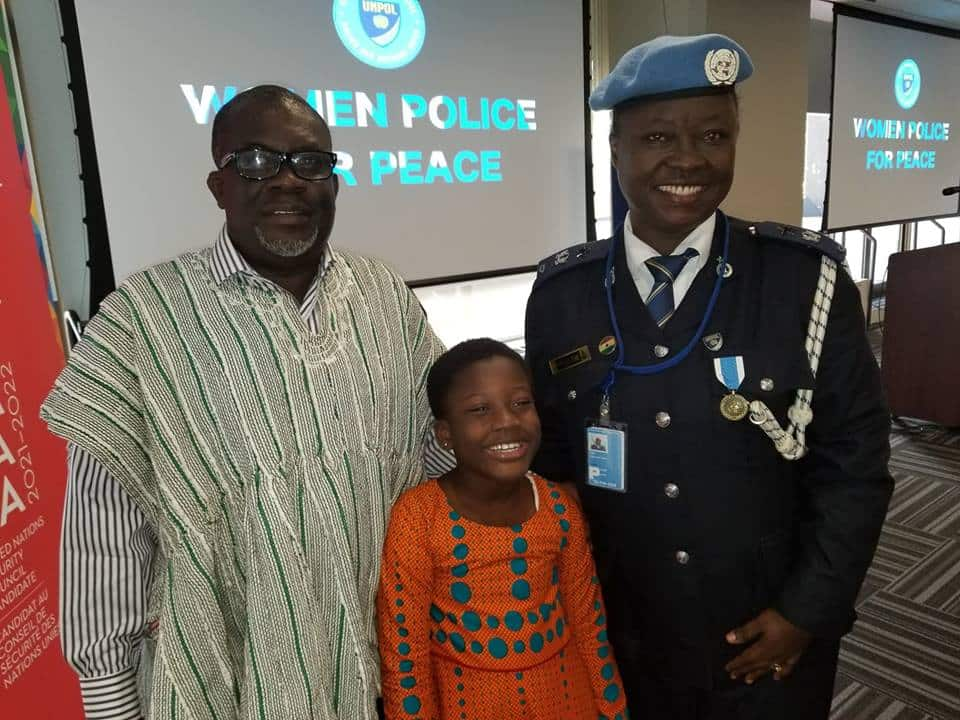 Nana Addo Akufo-Addo congratulates first Ghanaian to win UN Female Police Officer Award