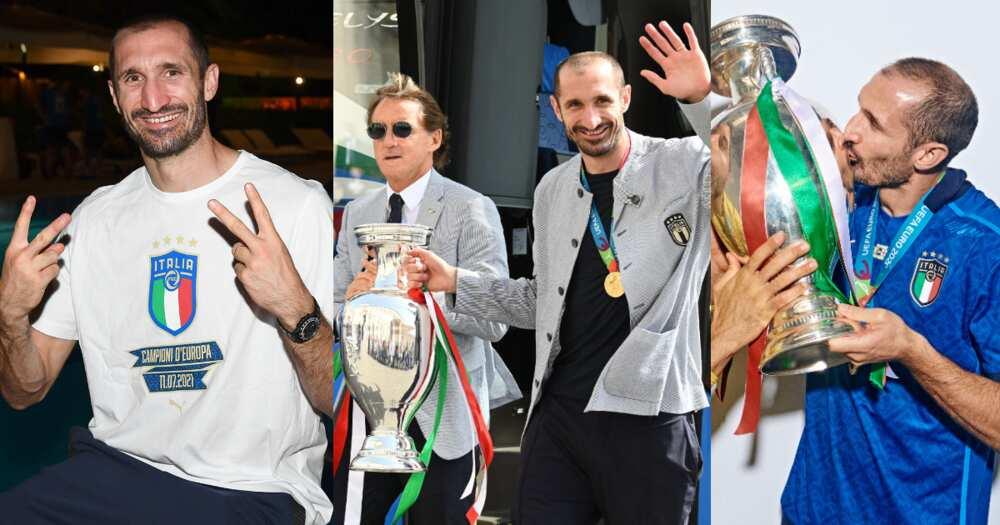 Giorgio Chiellini: How Masters holder masterminded Italy's EURO 2020 triumph
