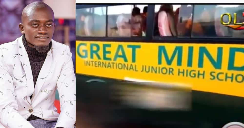 Lil Win: Actor's Great Minds School bus runs over 5-year-old girl and kills her Instantly