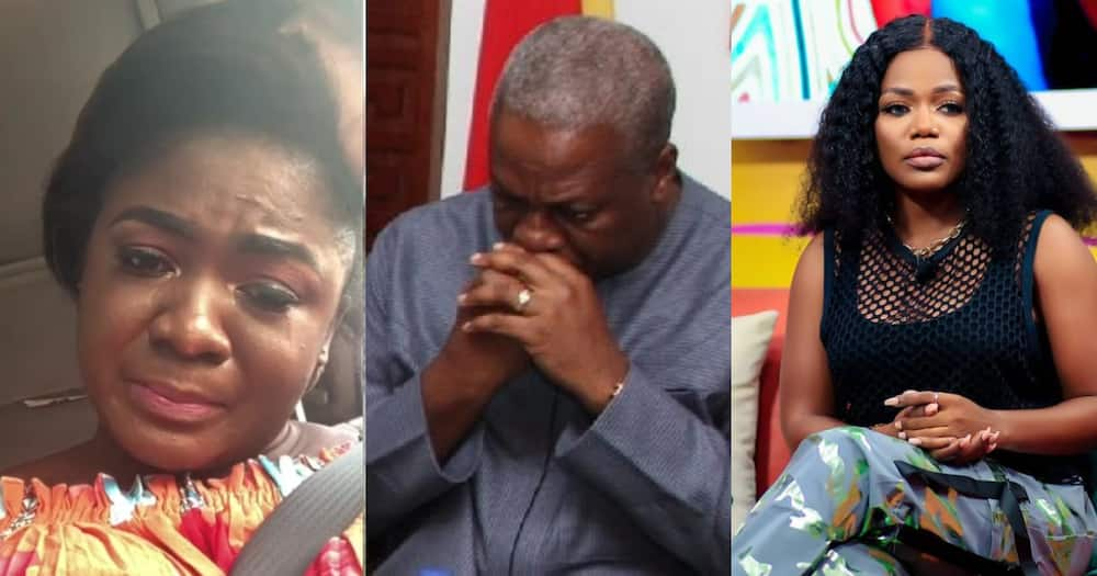 Mzbel confirms leaked audio conversation with Tracey Boakye over Mahama