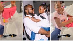 Thank you, daddy: Imade receives expensive Dior Saddle bag as birthday gift from Davido