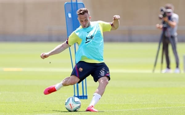 Arthur Melo not ready to return to Barcelona camp before joining Juventus this summer