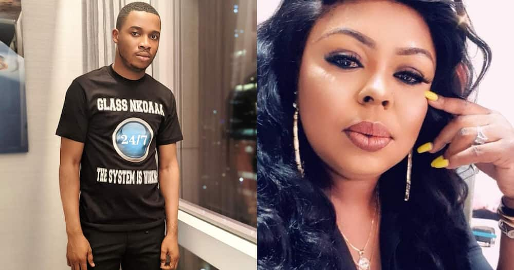Obia wo ni master laa; Twene Jonas applauded for Afia Schwar insult