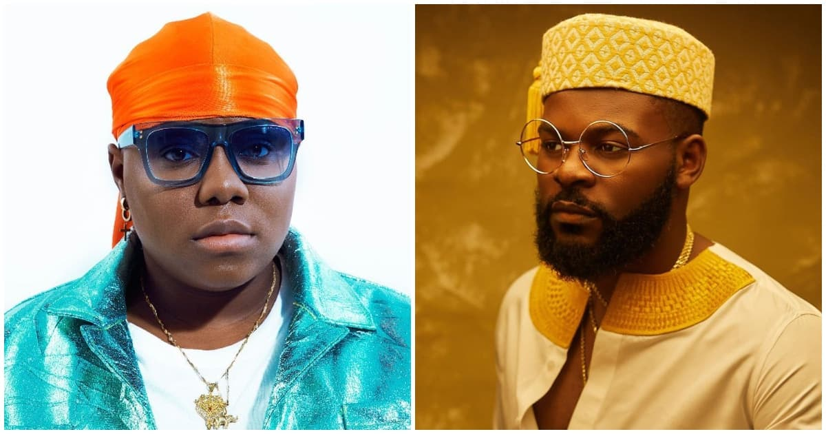 Teni and Falz set the internet abuzz after sharing cute kiss