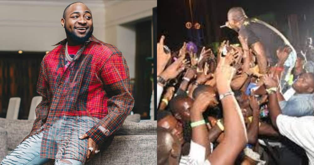 Davido gate crashes wedding reception at a hotel he lodged at in Ghana