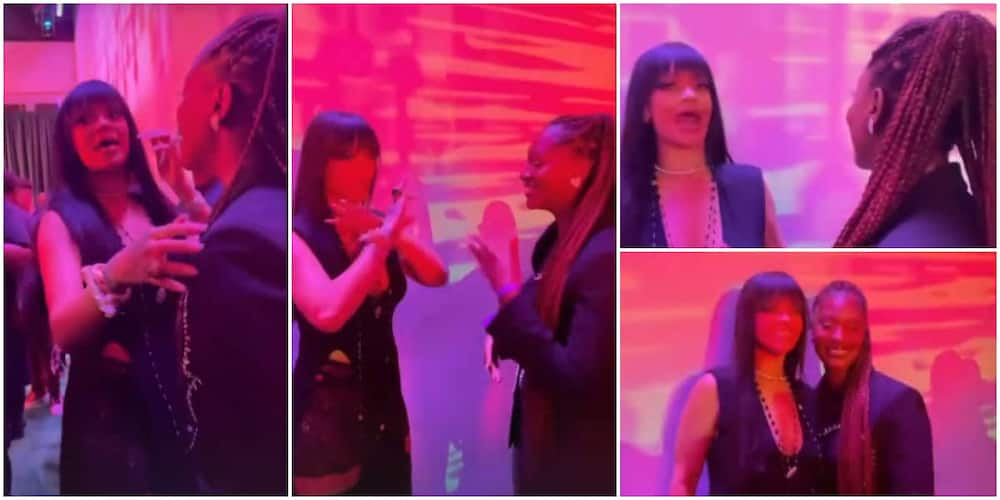 Rihanna meets Tems