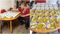 Kind deed: Man cooks 50 plates of rice and chicken every week to feed hungry street people