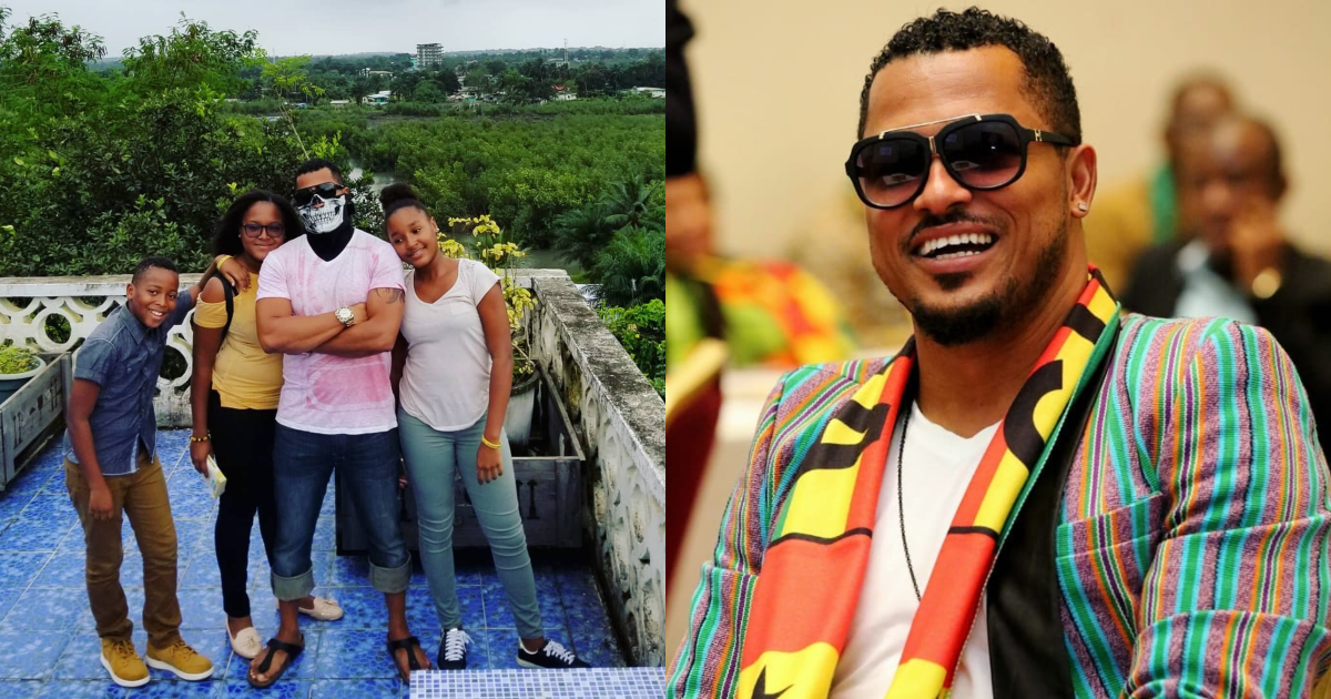 Van Vicker breaks the internet with photos of his grown-up 2nd daughter