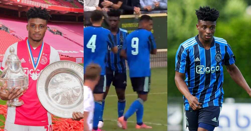Ajax midfielder Mohammed Kudus opens goal scoring account in preseason