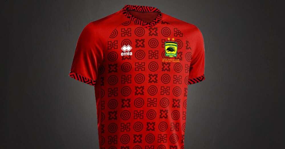Asante Kotoko unveil fabulous jersey for new season, photo drop