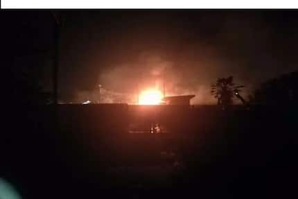 Nana Addo devasted by the tragedy of the La Trade Fair gas explosion