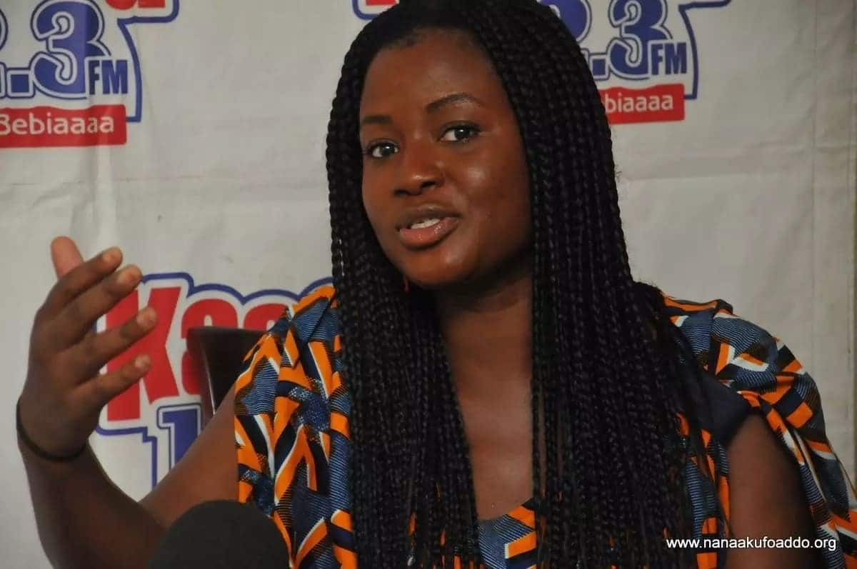 Daughter of Akufo Addo has a fierce message for all those who thinks she's unfit for tourism job