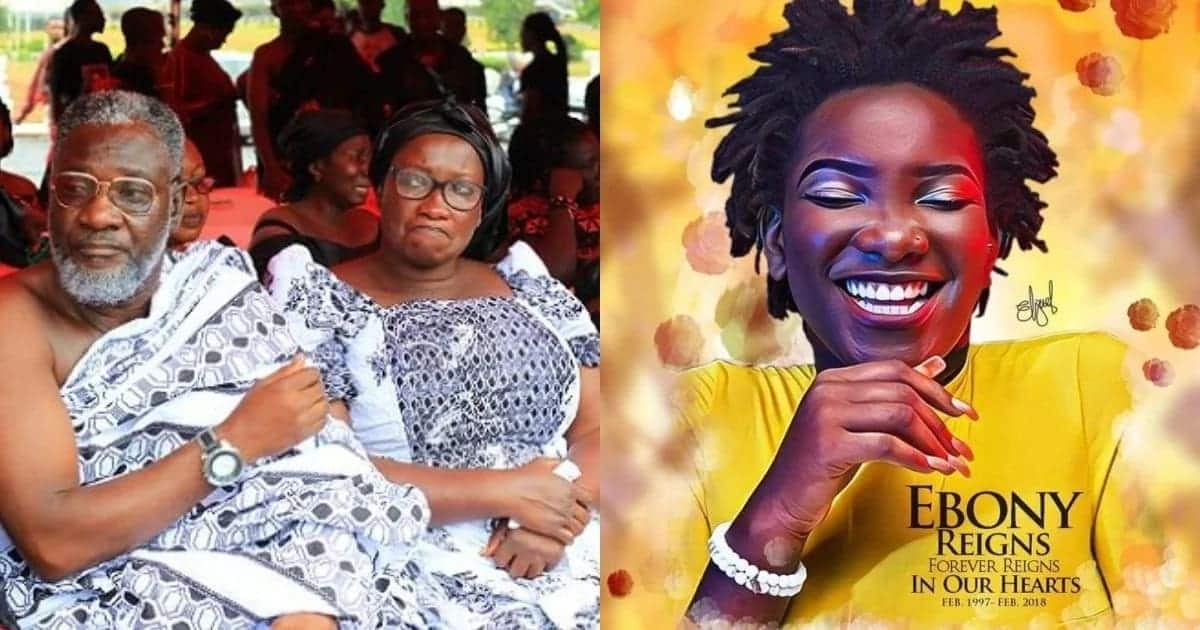 Ebony's father explains why he chose black casket for her burial
