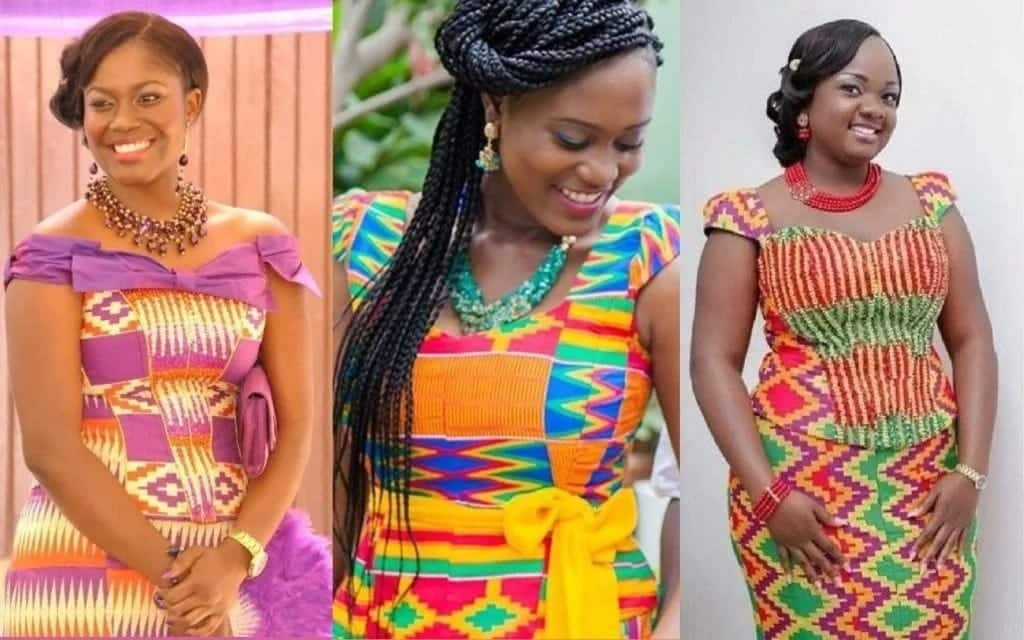 50 best kente styles for graduation in Ghana