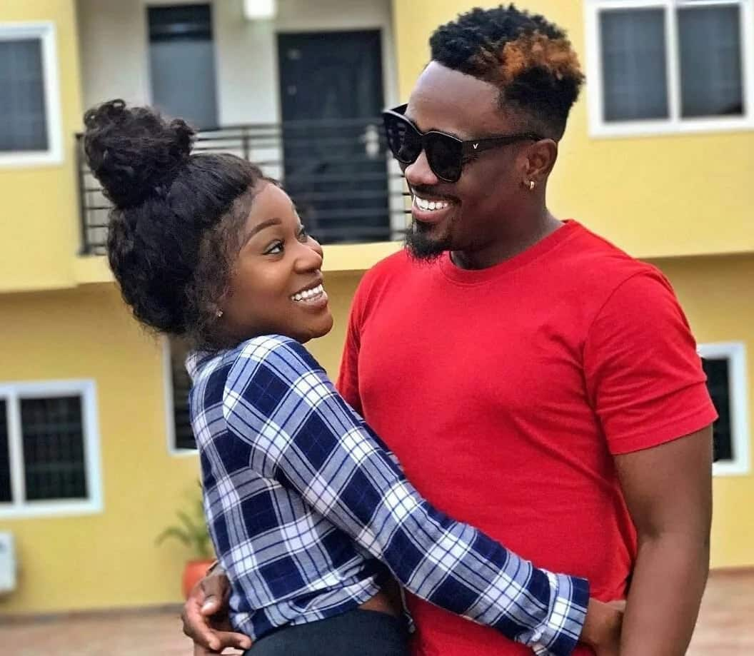 Toosweet Annan finally opens on romantic photo with Efia Odo