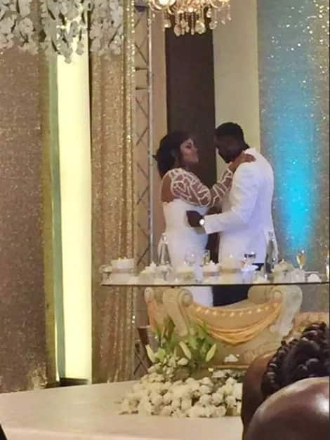 Photo from Nana Ama McBrown's wedding leaked