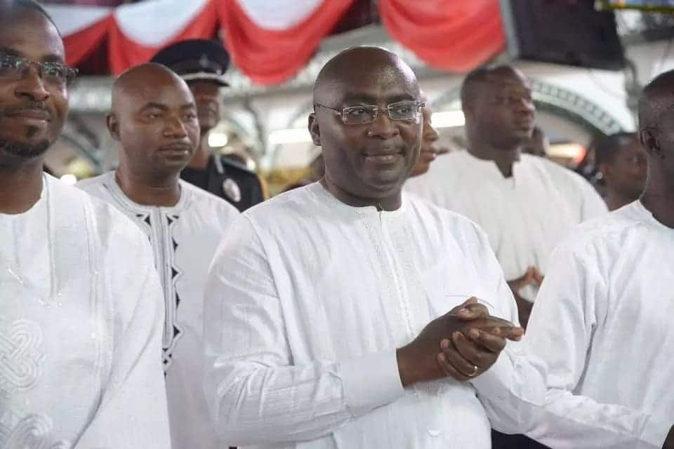 Bawumia receives birthday gift from Methodist church