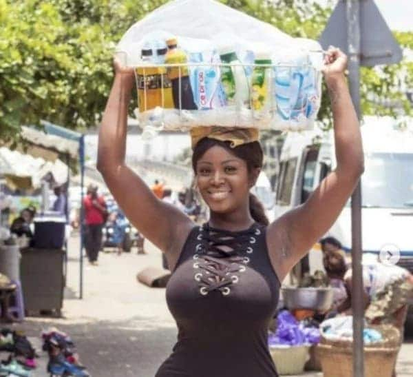 Ghanaians are asking this pure water seller for her number instead of buying water