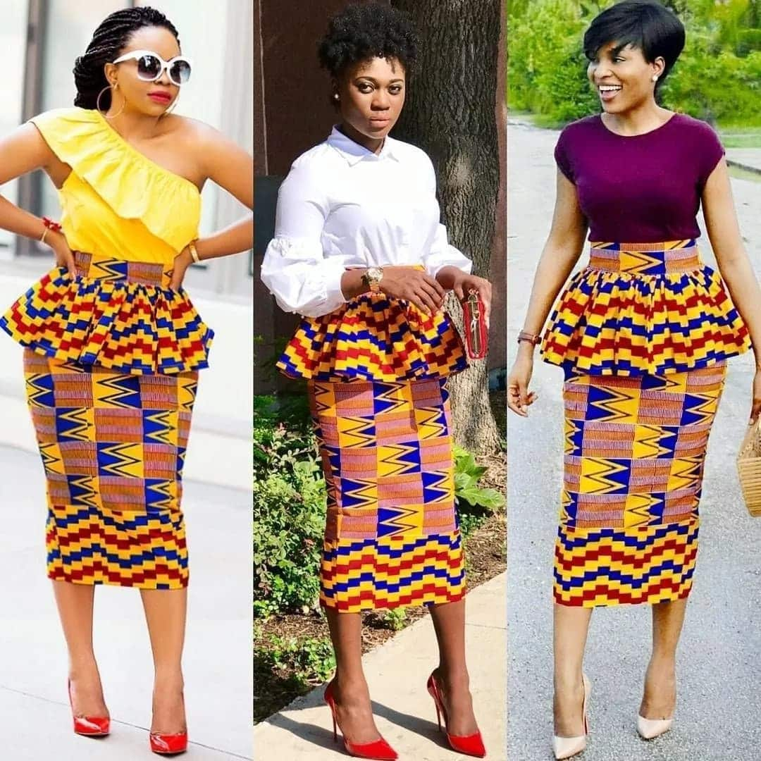 Top Trending Ghanaian Fashion Dresses Pictures in 2018