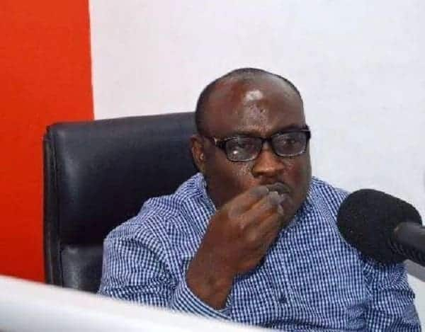 NDC's 'drunk' Kwaku Boahen dragged out of radio studio