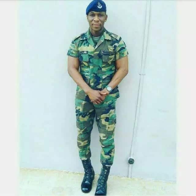 Here is the soldier who died with Ebony