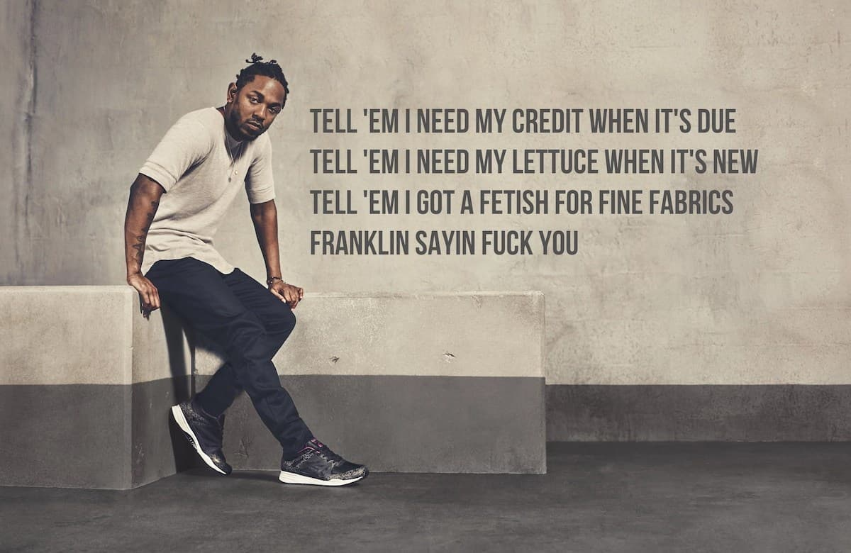 Popular Kendrick Lamar quotes about love