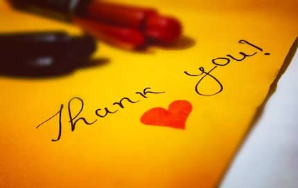 List of nice thank you messages for special gifts