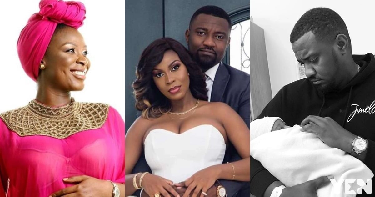 Image result for Actor, John Dumelo and wife welcome baby