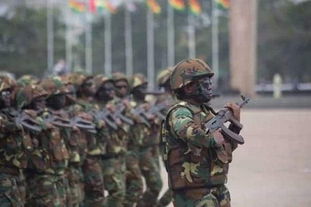 Ghana Armed Forces Recruitment