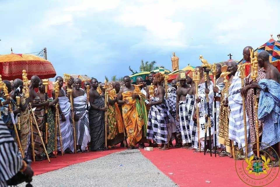 All the royal pictures captured at the grand durbar of Nana Ofori Attah's 75th anniversary