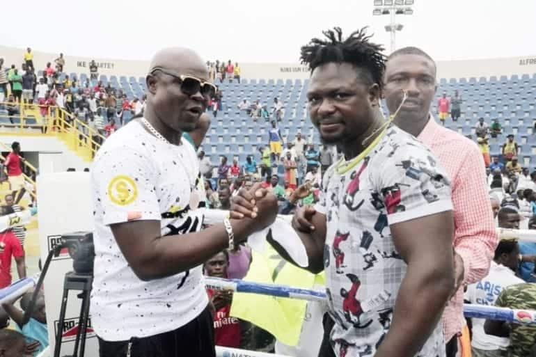 Chase me out of Ghana if I don't knock Bastie at round six — Bukom Banku (Video)