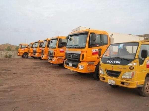 Top transport companies in Ghana.