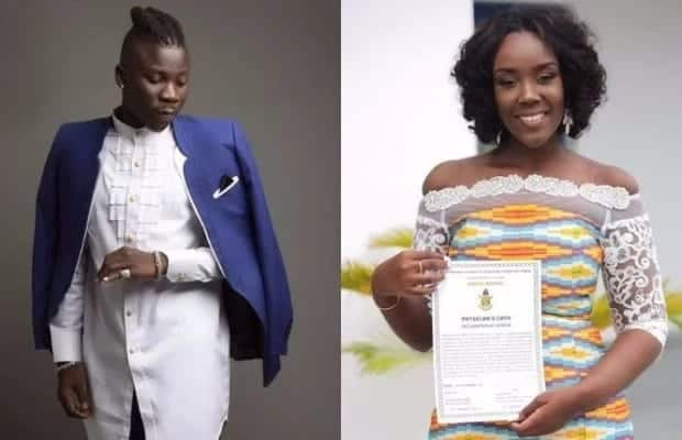 Stonebwoy finally responds to claims that his wife is pregnant