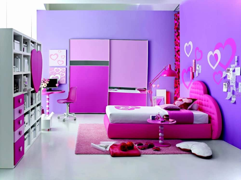 Pink Y Painting Designs For Rooms